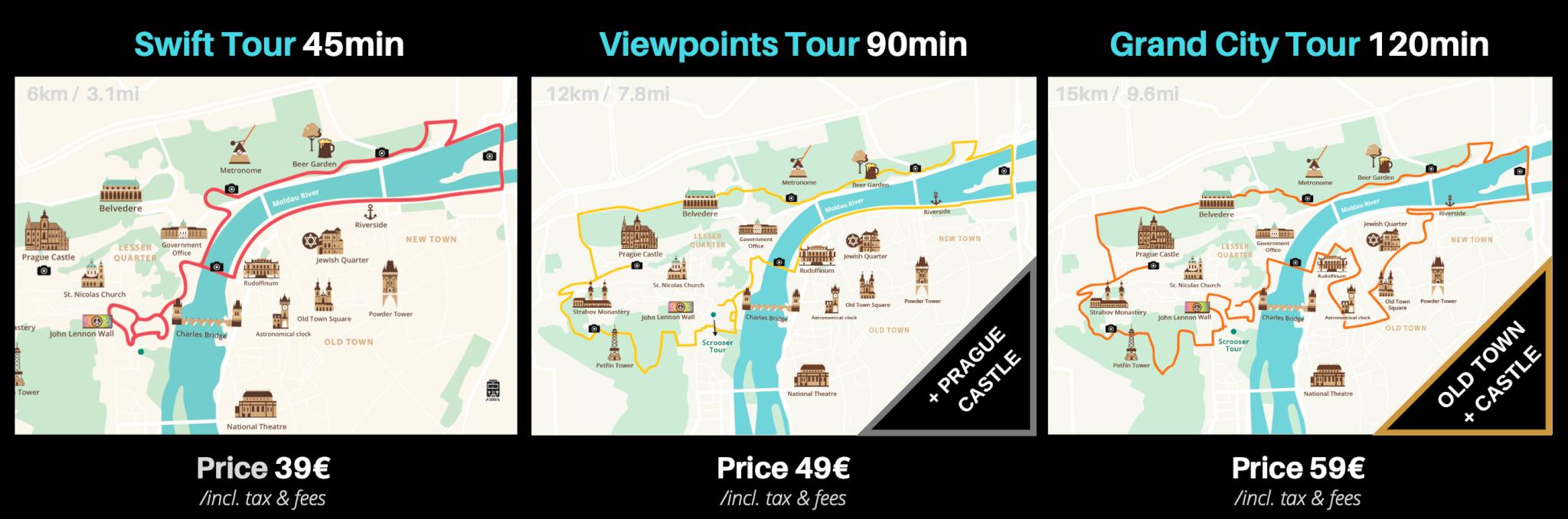 Scrooser tour prague prices